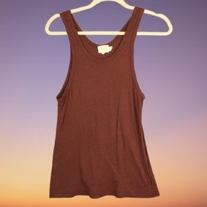 Nation LTD Organic Cotton Recycled Tank Top Size M